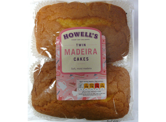 Howell's - Twin Madeira Cake 660g