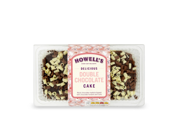 Howell's - Double Chocolate Cake 350g