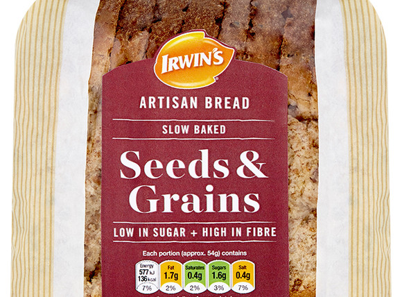 Irwin's Original - Irwin's Artisan Seeds and Grains 600g