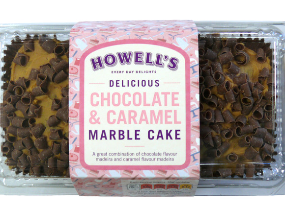 Howell's - Chocolate Caramel Marble Cake  350g