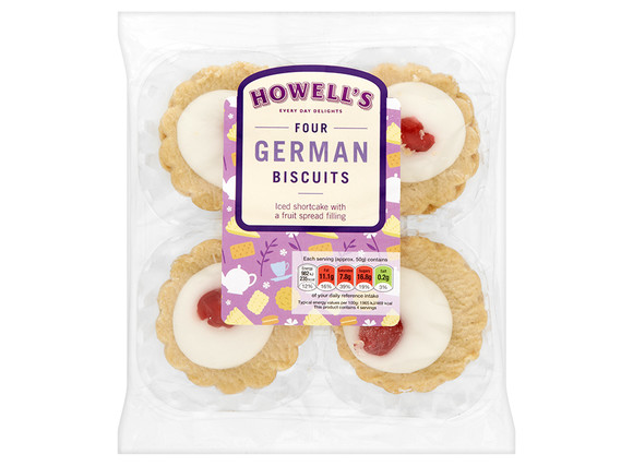 Howell's - German Biscuits 200g