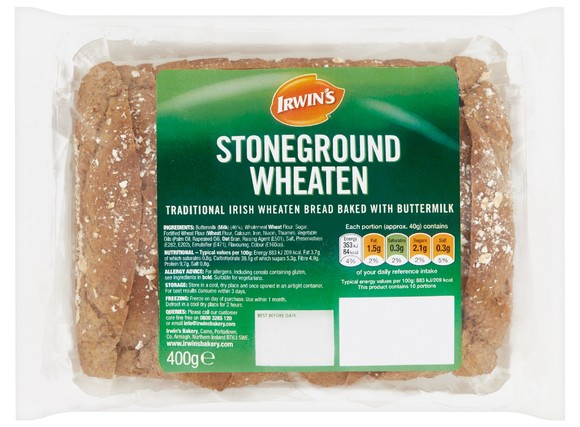 Irwin's Original - Stoneground Wheaten 400g